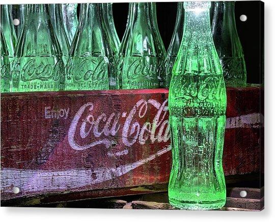 Coca-cola As Art Acrylic Print