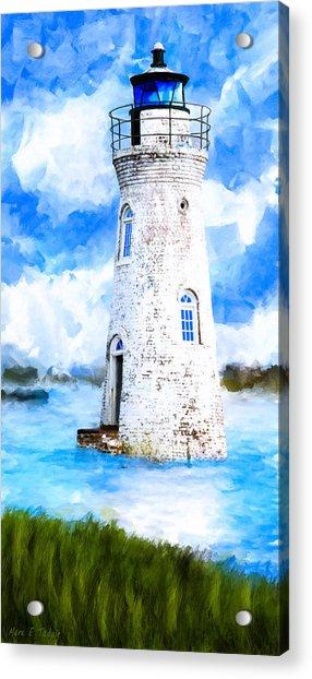 Cockspur Island Light - Georgia Coast Acrylic Print