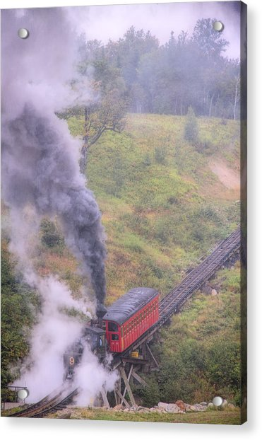 Cog Railway Car Acrylic Print