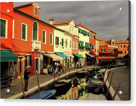 Colorful Burano Acrylic Print
