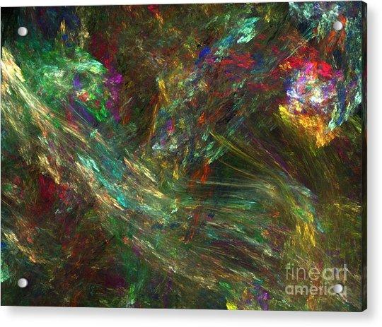 Colors Of Light Acrylic Print