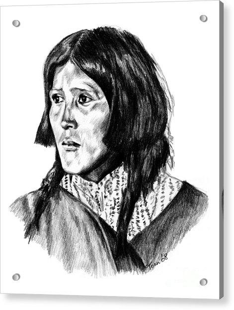 Congha's Wife Acrylic Print