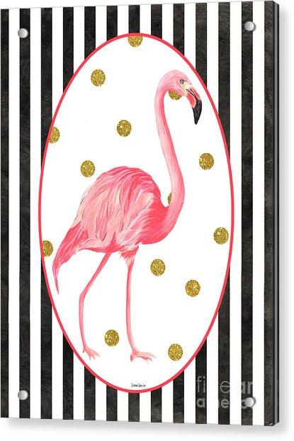 Contemporary Flamingos 2 Acrylic Print