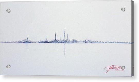 Cool Morning Acrylic Print
