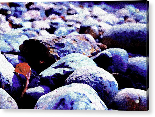 Cool Rocks- Acrylic Print