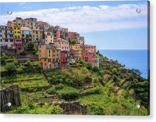 Corniglia Cinque Terre Italy Acrylic Print