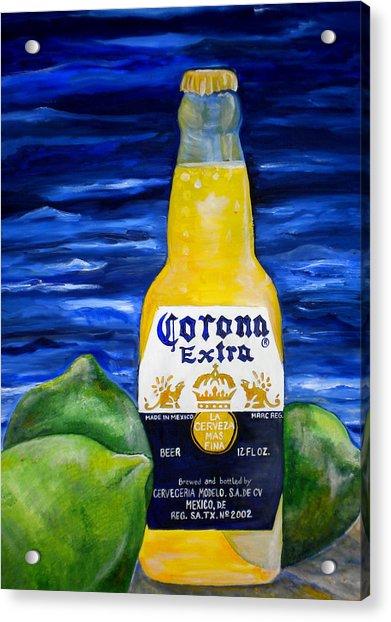 Corona Acrylic Print