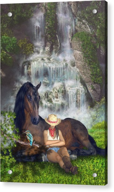 Country Memories 1 Acrylic Print