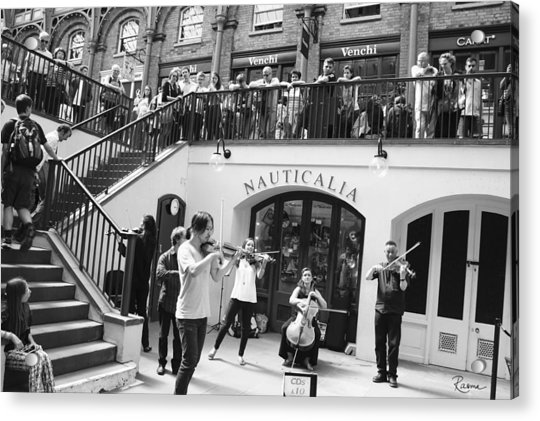 Covent Garden Music Acrylic Print