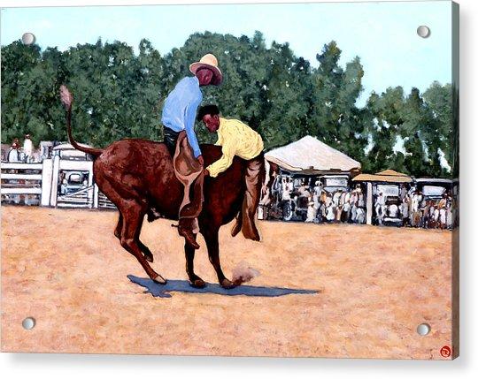 Cowboy Conundrum Acrylic Print