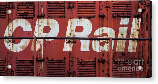 Cp Rail Acrylic Print