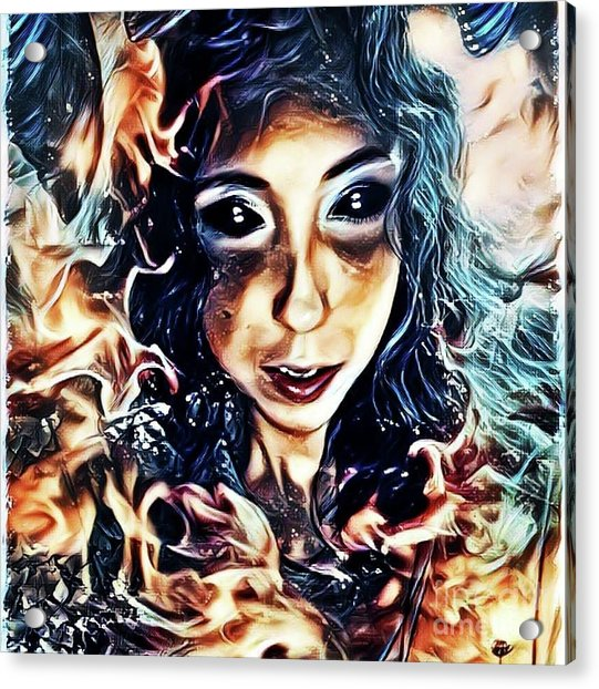Creature Of The Deep Acrylic Print