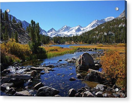 Creek At Little Lake Valley Acrylic Print
