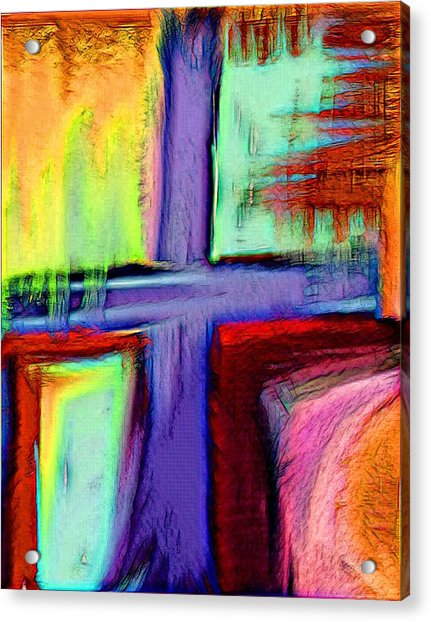 Cross Of Hope Acrylic Print