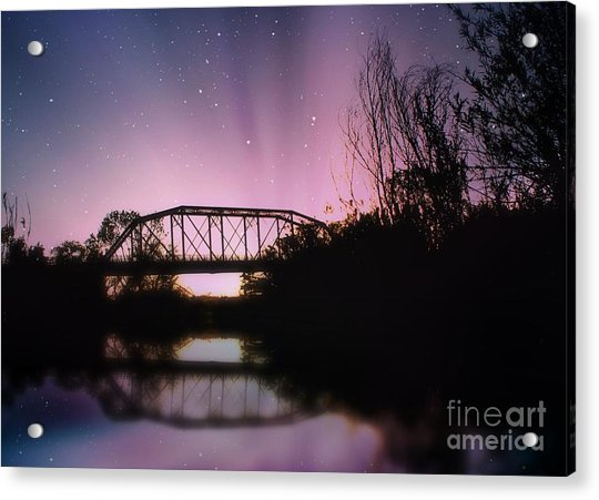 Crossing Over Acrylic Print