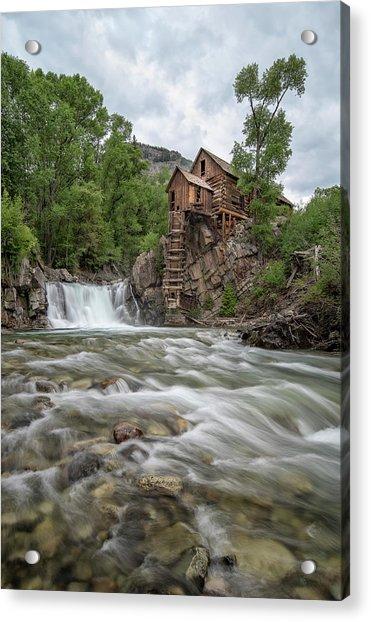 Crystal Mill Colorado 2 Acrylic Print