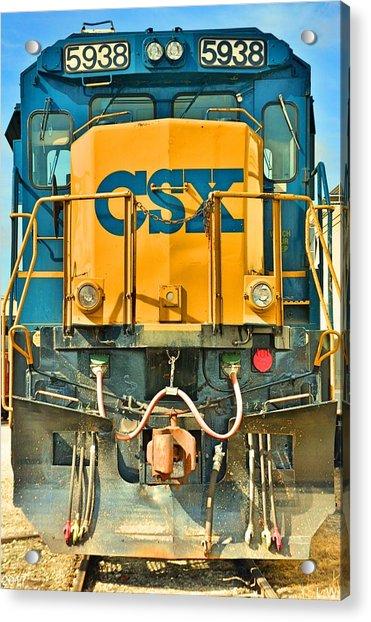 Csx 5938 Acrylic Print