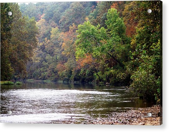 Current River Fall Acrylic Print