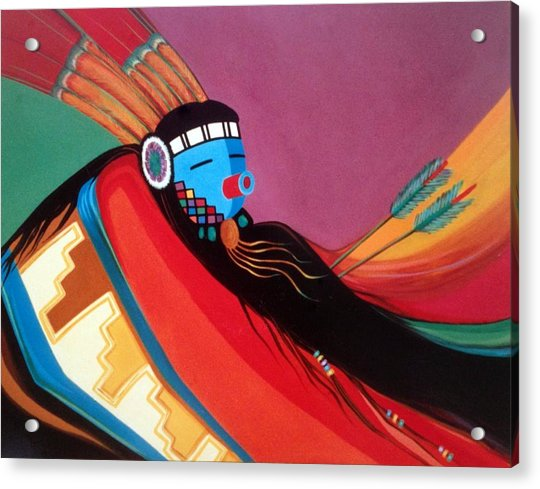 Custom Kachina Acrylic Print