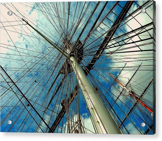 Cutty Sark Acrylic Print