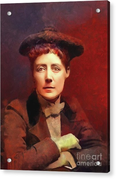 Dame Ethel Smyth, Suffragette And Composer Acrylic Print