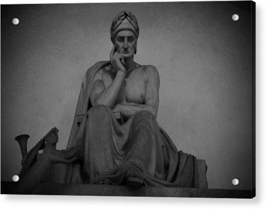 Dante Alighieri Acrylic Print