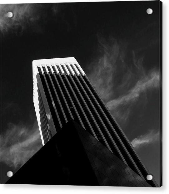 Dark Geometry Acrylic Print