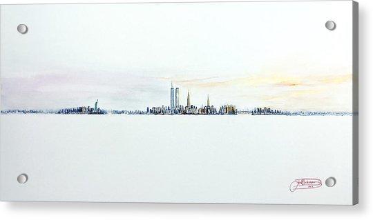 Dawn New York City Acrylic Print