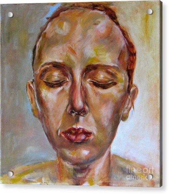 Daydreaming Acrylic Print by Iglika Milcheva-Godfrey