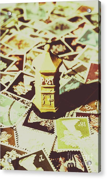 Days From The Vintage Post Office Acrylic Print