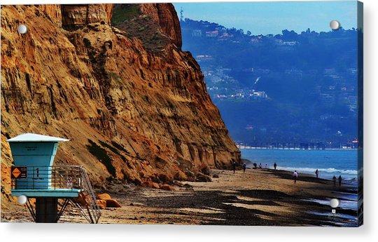 Del Mar - Torrey Pines Beach Acrylic Print