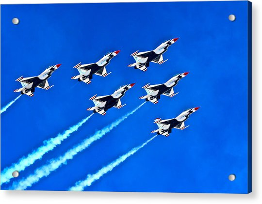 Delta Formation Acrylic Print