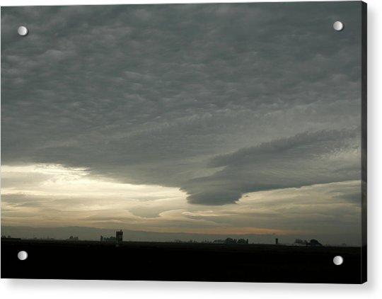 Delta Sky Acrylic Print