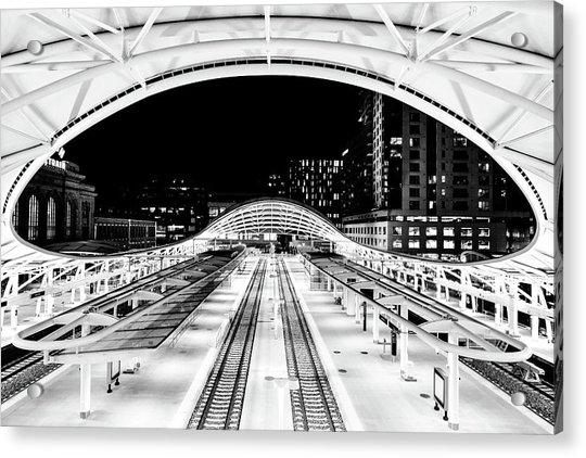 Denver's Union Station Acrylic Print