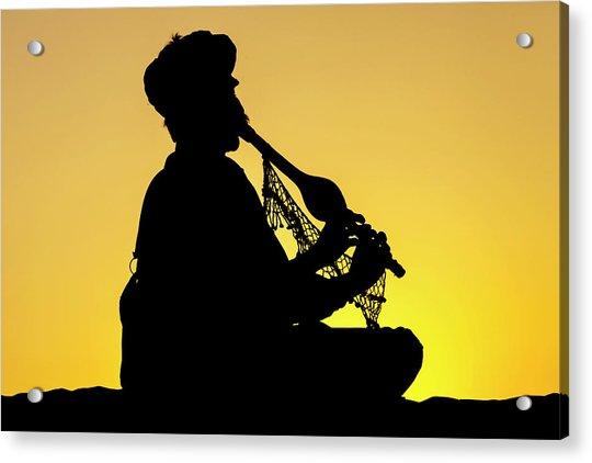 Desert Music, Jaisalmer, India Acrylic Print