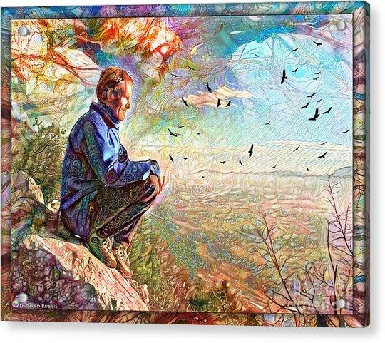 Die Slowly - Lentamente Muore  Acrylic Print