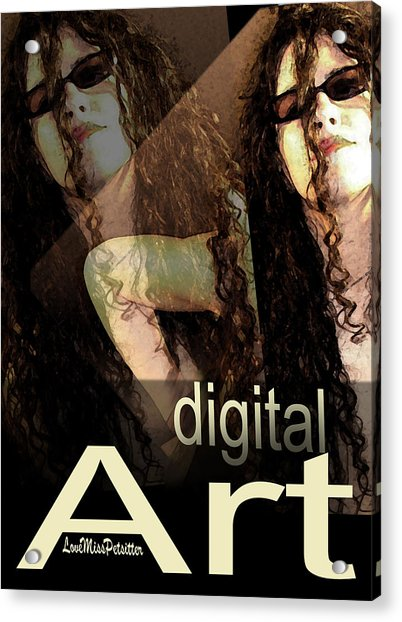 Digital Art Poster Acrylic Print