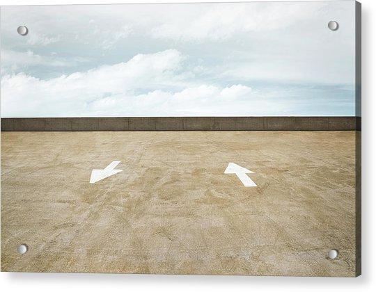 Direction Acrylic Print