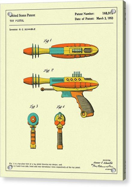 Disintegrator Pistol 1953 Acrylic Print
