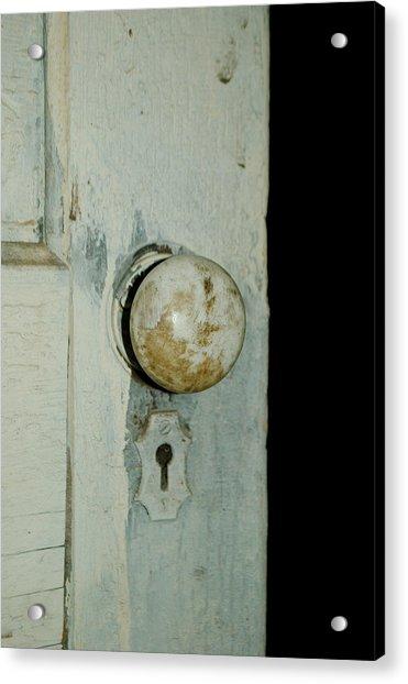 Door Is Open Acrylic Print