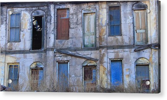 Old Building In Jerome, Arizona Acrylic Print