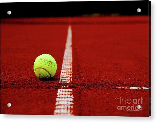 Down And Out Acrylic Print