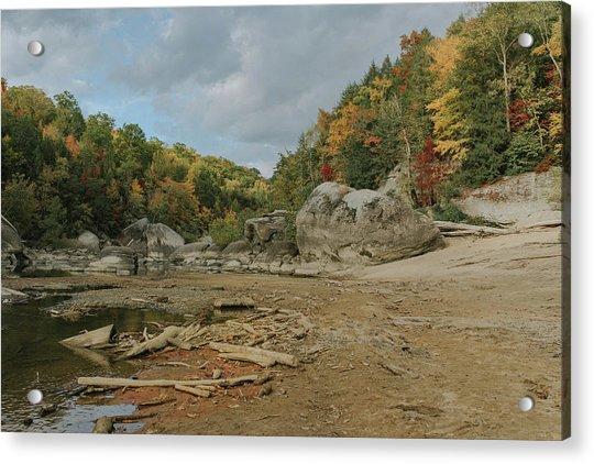 Downstream From Cumberland Falls Acrylic Print