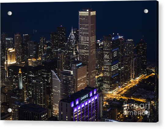 Downtown Chicago Acrylic Print
