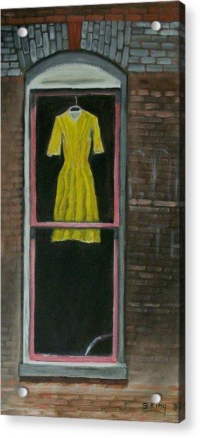 Dress Up Acrylic Print