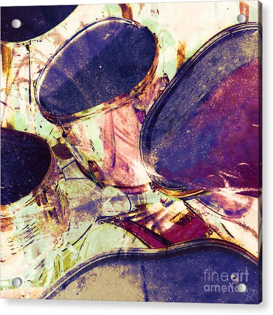 Drum Roll Acrylic Print