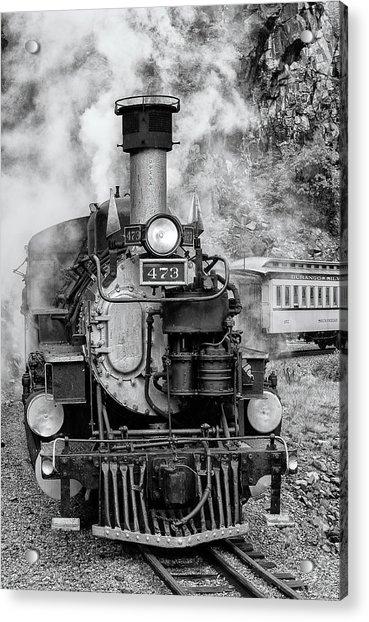 Durango Silverton Train Engine Acrylic Print