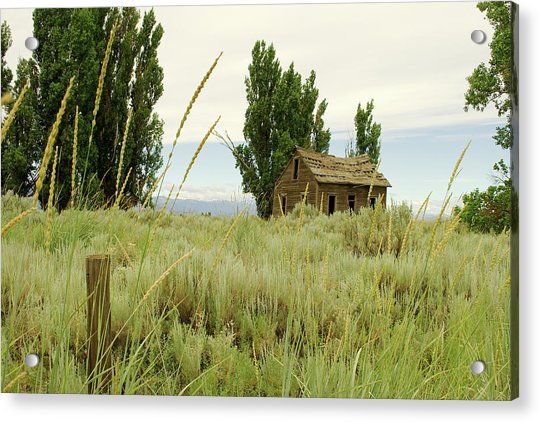 Dyer Country Home Acrylic Print