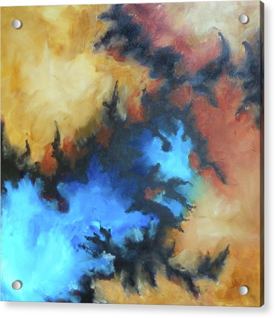 Dynasty Expressionist Painting Acrylic Print