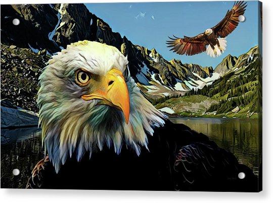 Eagles Lake Acrylic Print